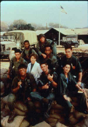Group shot from season two of Tour of Duty